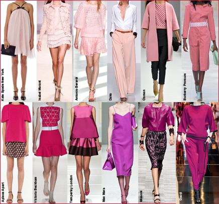 Психология розового и фиолетового
