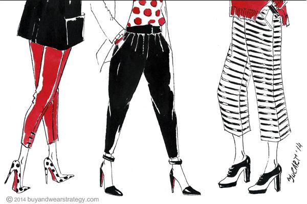 Как подобрать укороченные брюки