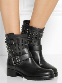Байкерские ботинки