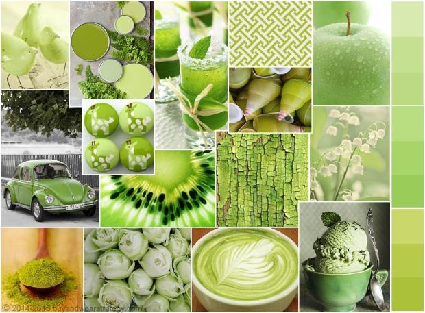 Психология зелёного цвета