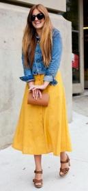 Охристые оттенки жёлтого