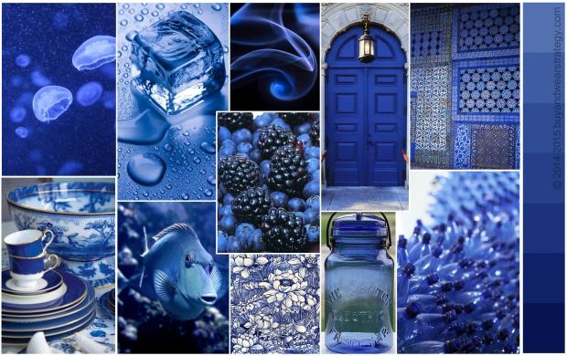 Психология синего цвета