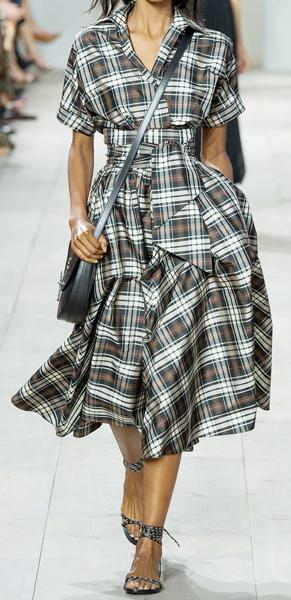 Платье рубашечного покроя