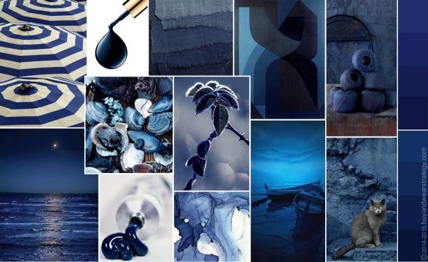 Тёмно-синие оттенки