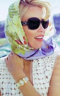 Как повязать платок на голову
