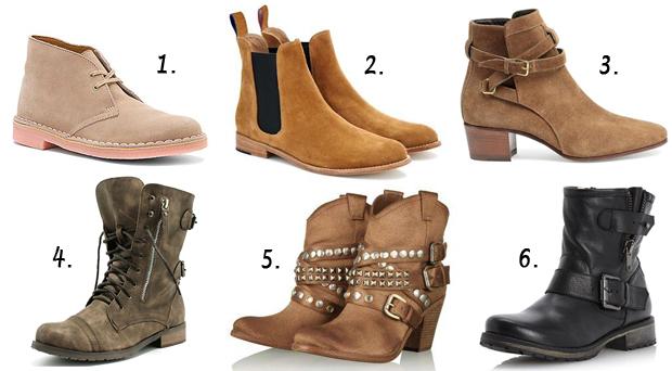 Виды женских ботинок, пришедшие из мужской моды   buy and ... e12e8b837e0