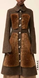 Меховые элементы в одежде