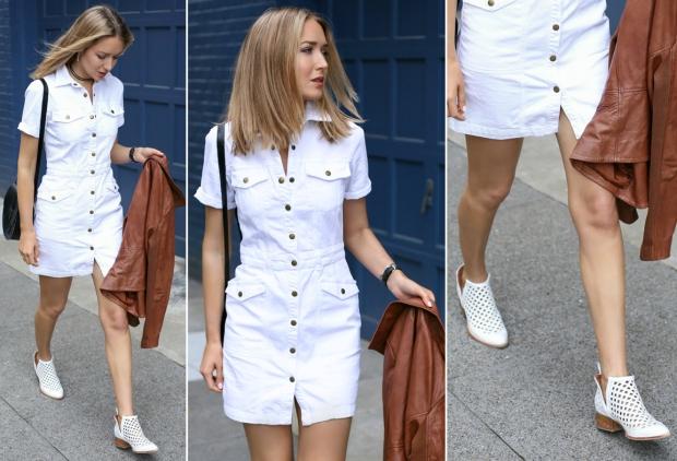 Look of the day: платье рубашка