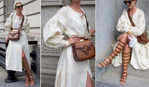 Look of the day: цвет экрю